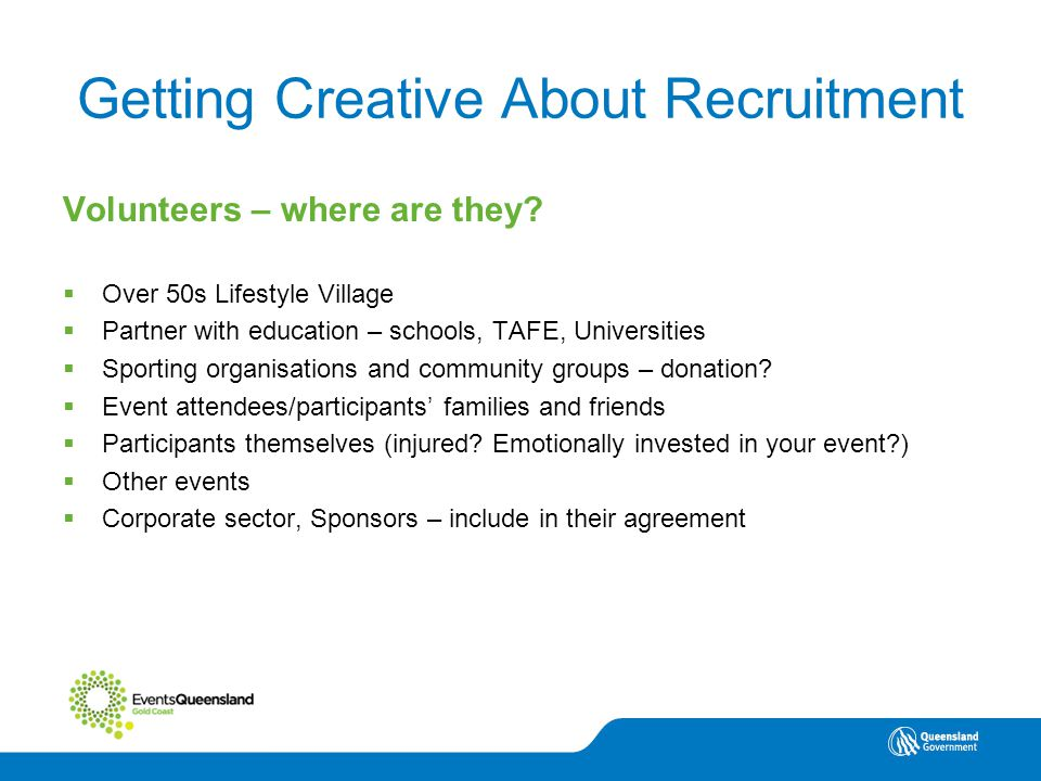 Volunteering North Queensland Getting Creative About Recruitment Volunteers – where are they.