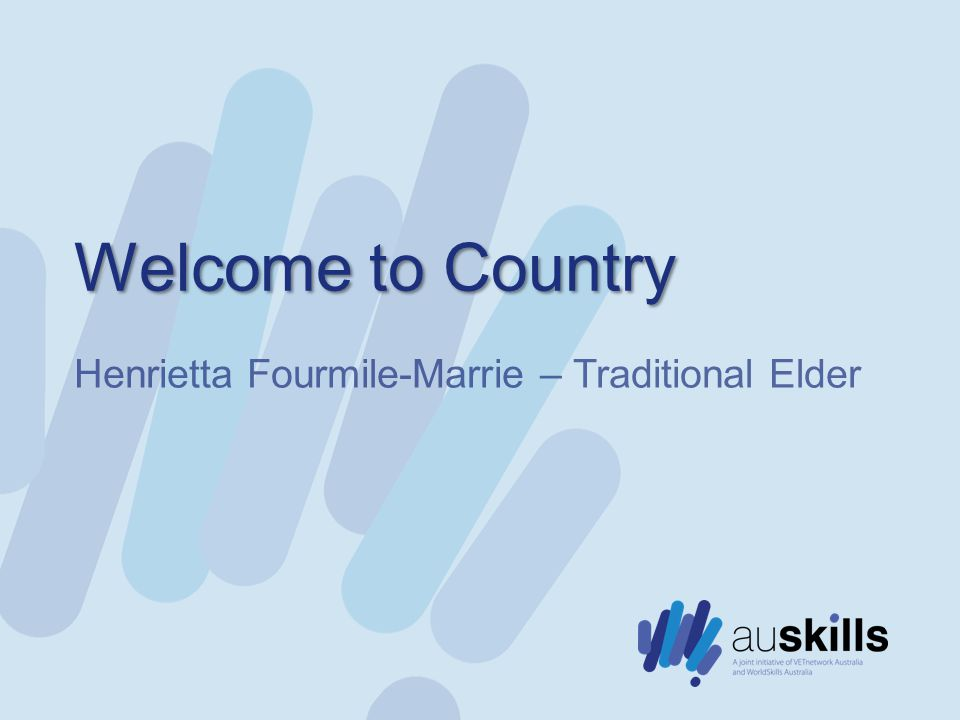 Welcome to Country Henrietta Fourmile-Marrie – Traditional Elder