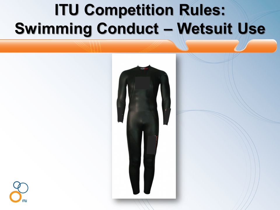 ITU Competition Rules: Swimming Conduct – Wetsuit Use