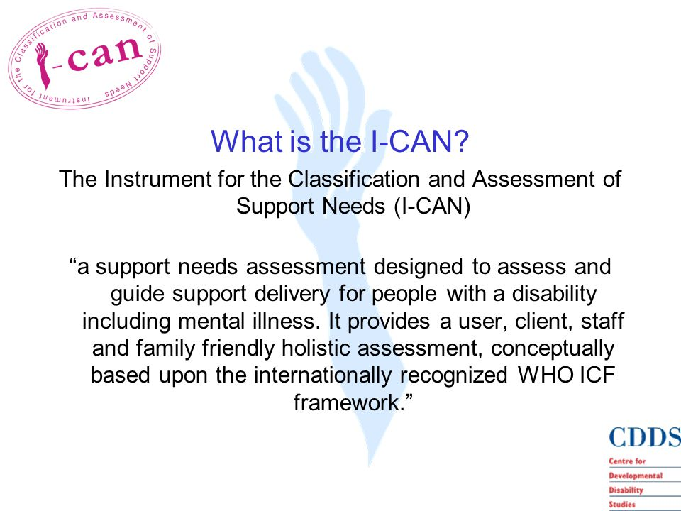 What is the I-CAN.