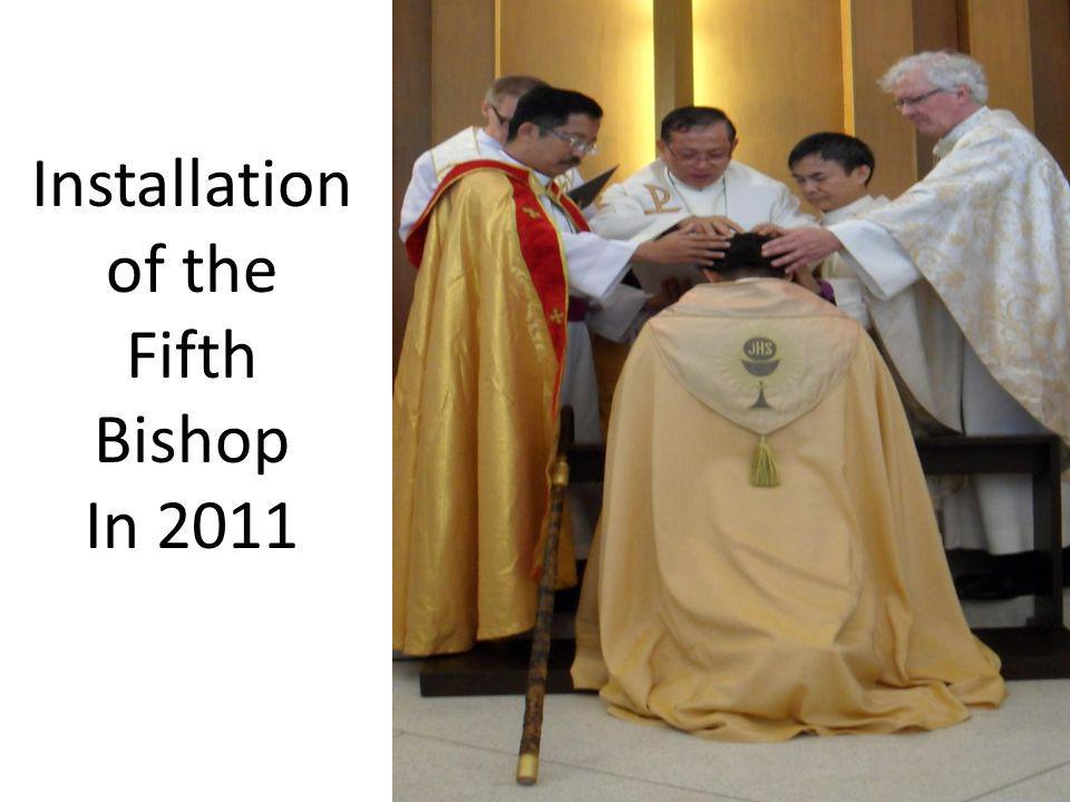 Installation of the Fifth Bishop In 2011