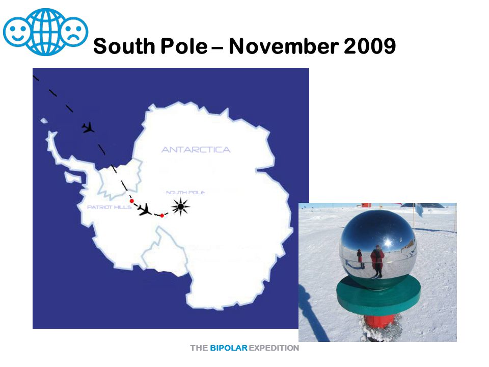THE BIPOLAR EXPEDITION South Pole – November 2009