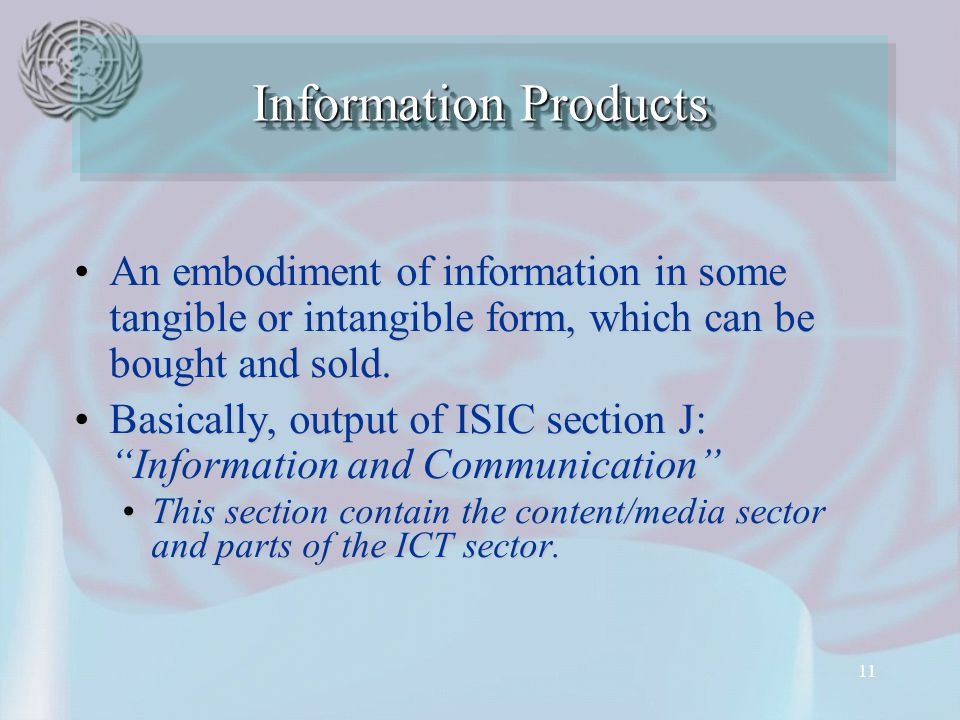 11 An embodiment of information in some tangible or intangible form, which can be bought and sold.An embodiment of information in some tangible or intangible form, which can be bought and sold.