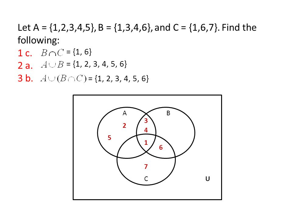 Set Operations And Venn Diagrams 22 23 The Intersection Of Sets