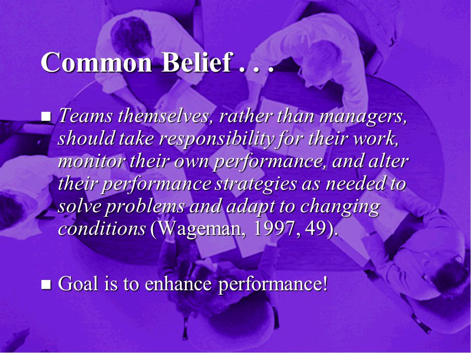 Common Belief...