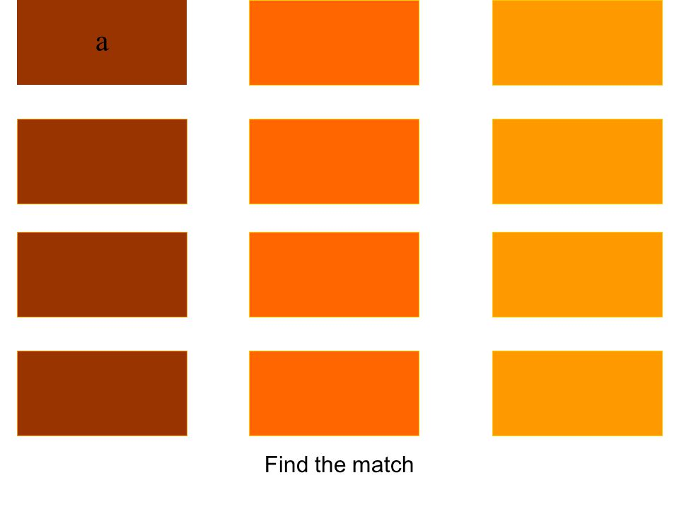 Find the match
