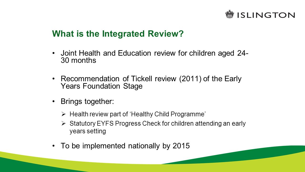 What is the Integrated Review.