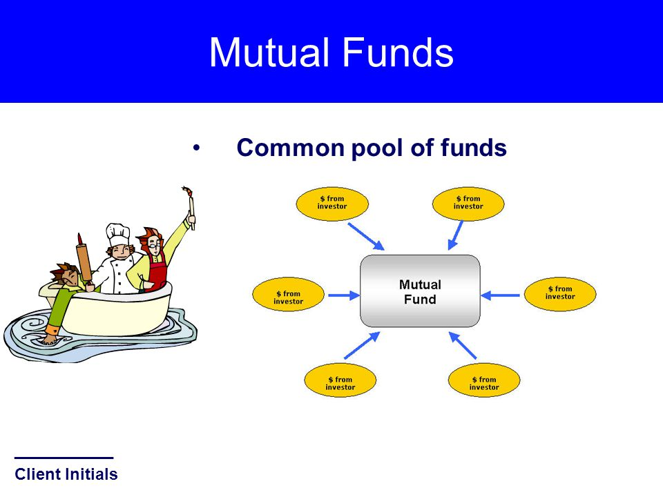 Mutual Funds Common pool of funds ___________ Client Initials