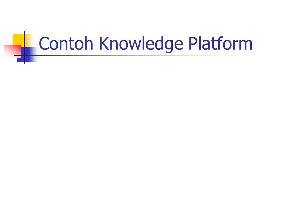 Contoh Knowledge Platform