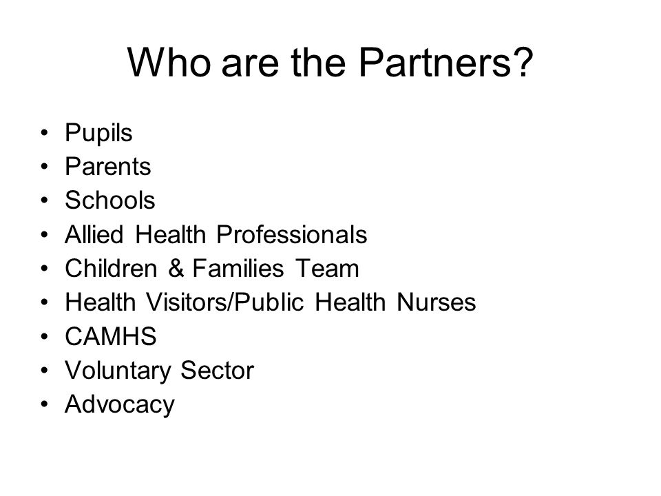 Who are the Partners.