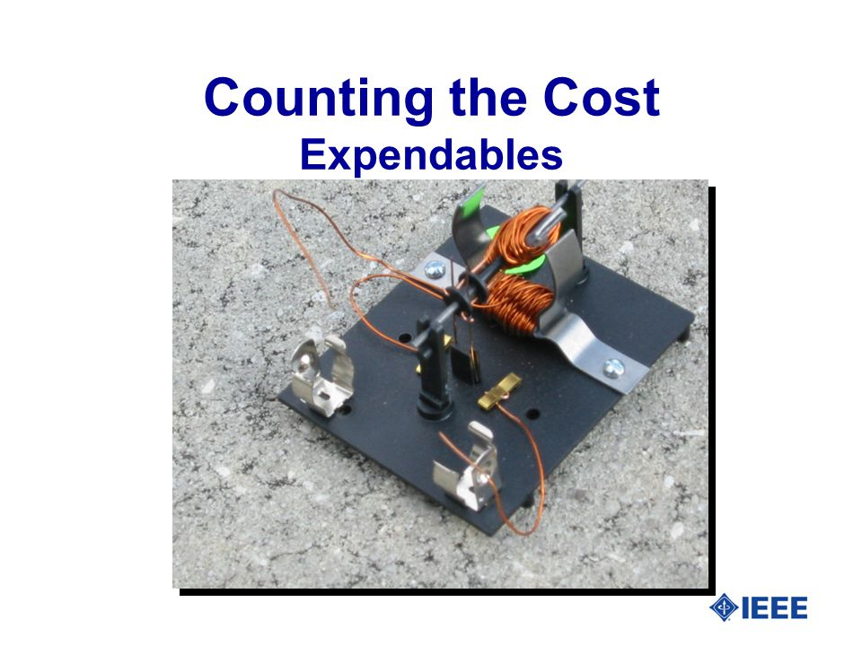 14 Counting the Cost Expendables