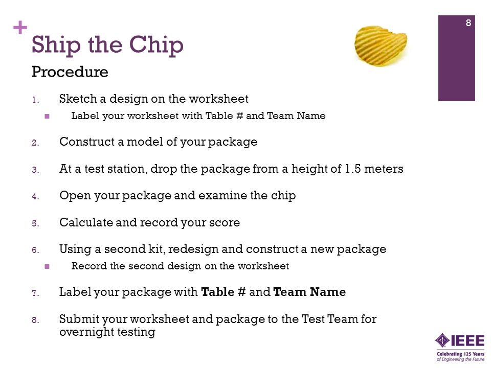 + Ship the Chip 1.