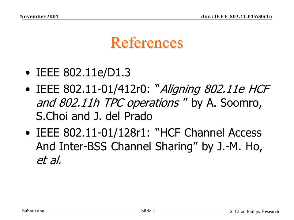 doc.: IEEE 802.11-01/630r1a Submission S.