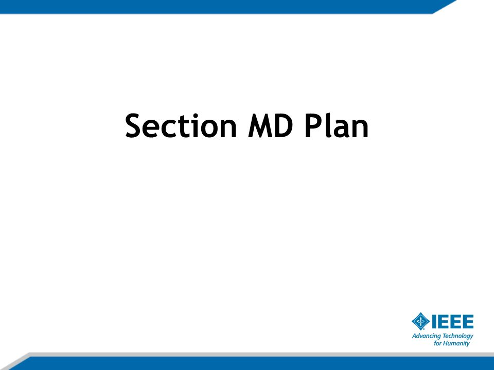 Section MD Plan