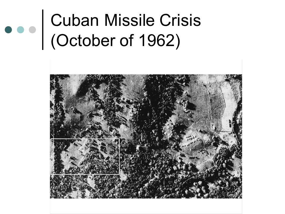 Cuban Missile Crisis (October of 1962)