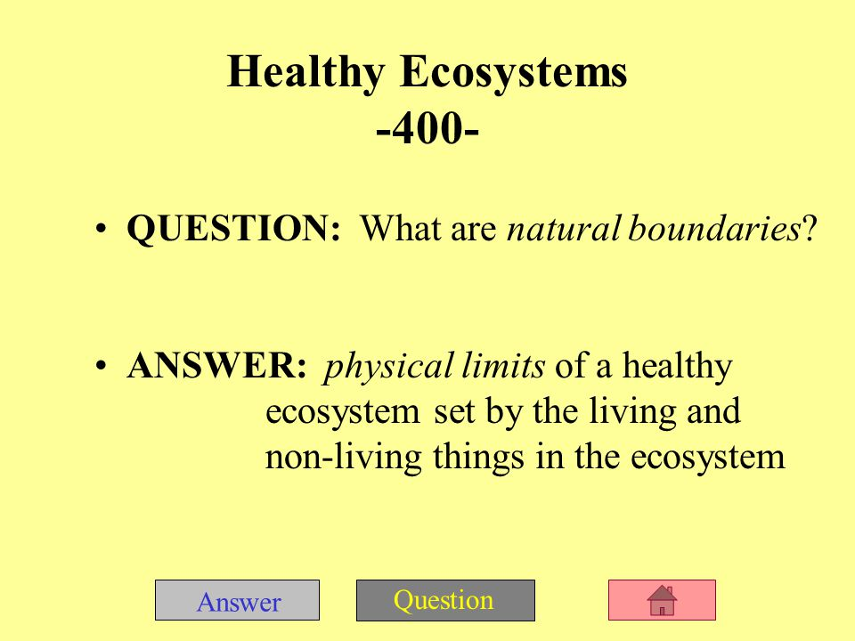 Answer Question QUESTION: What are land forms, water sources, soil, and rocks.