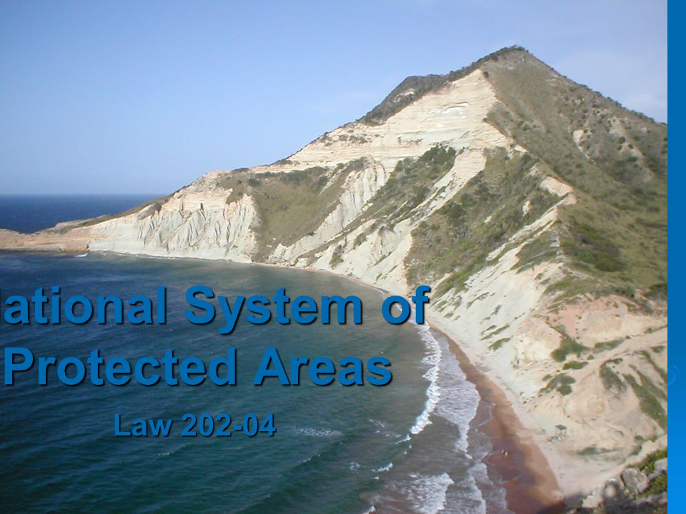 National System of Protected Areas Law 202-04