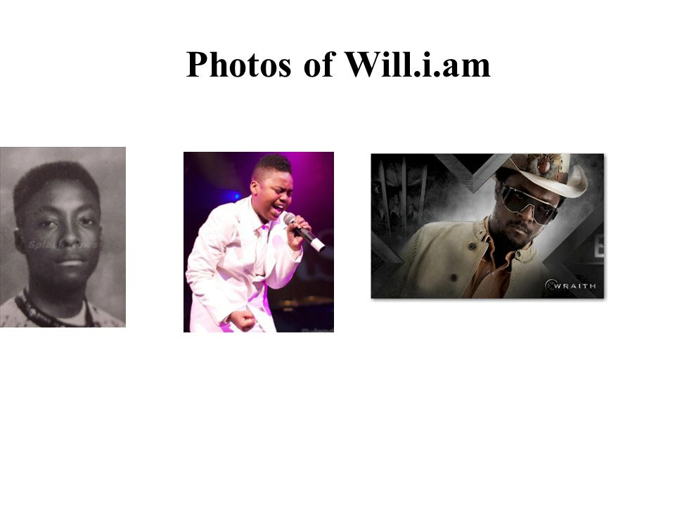 Photos of Will.i.am