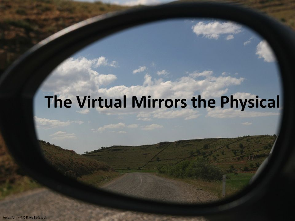 The Virtual Mirrors the Physical http://bit.ly/M06NHo Barisabak