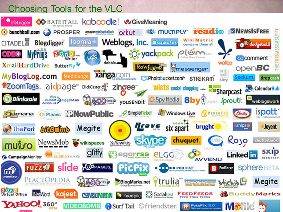Choosing Tools for the VLC