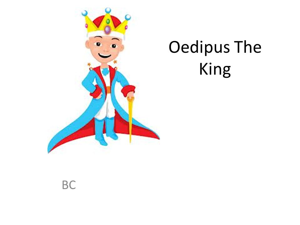 Oedipus The King BC