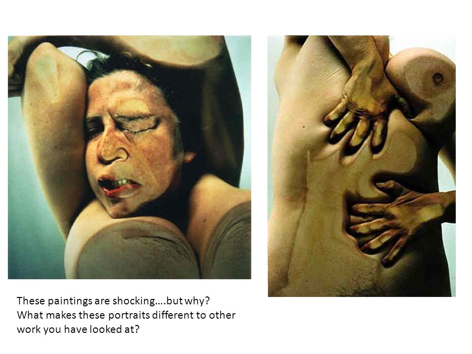 These paintings are shocking….but why.