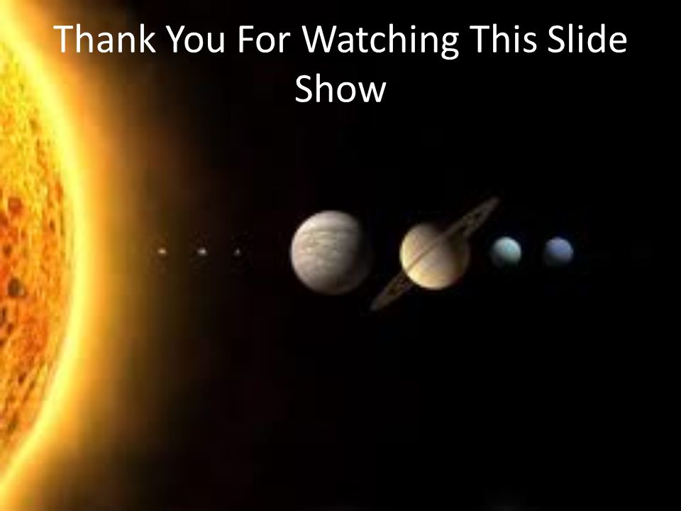 Thank You For Watching This Slide Show