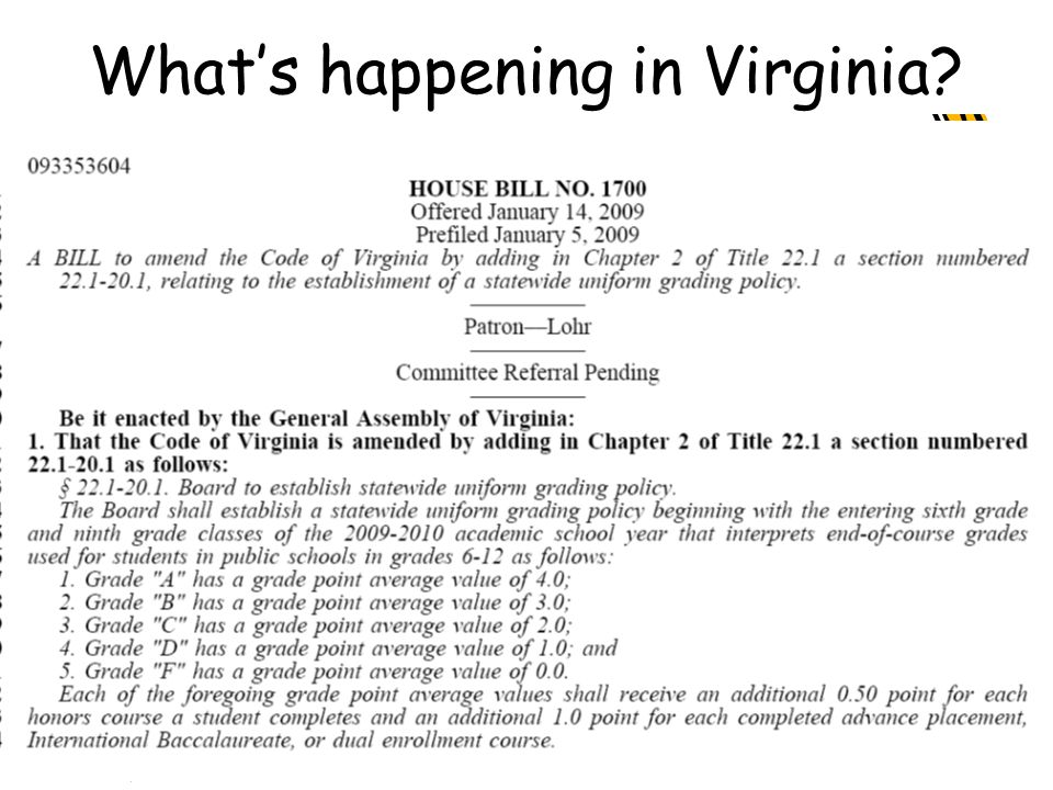 What's happening in Virginia