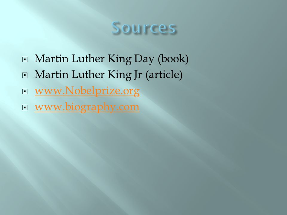  In 1955 Martin accepted leadership of the first great Negro nonviolent demonstration.