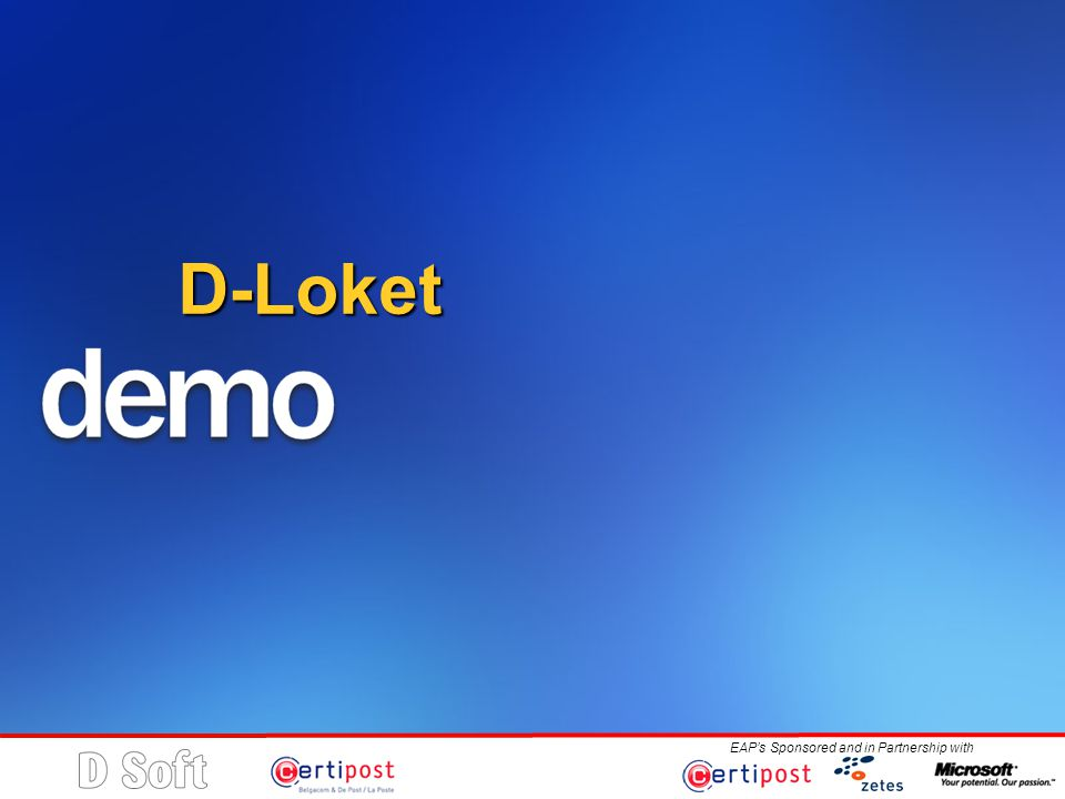EAP's Sponsored and in Partnership with D-Loket