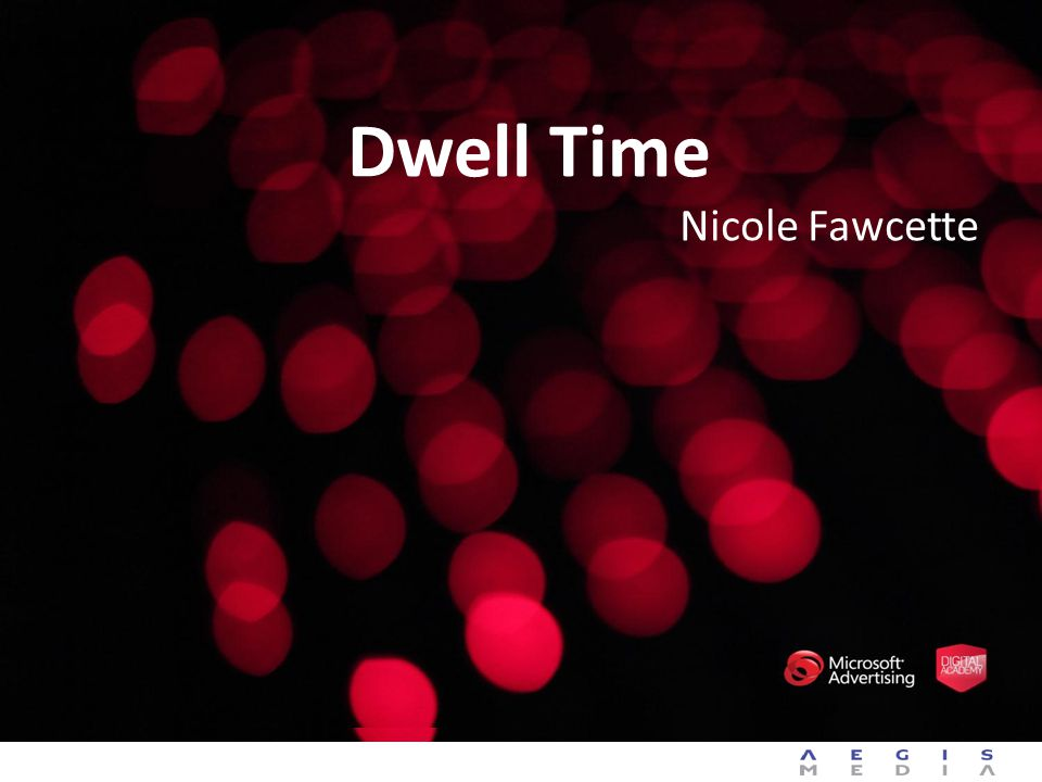 Dwell Time Nicole Fawcette