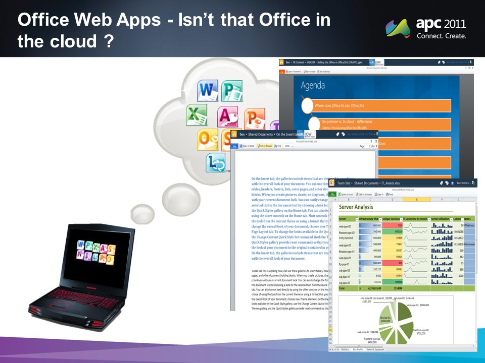Office Web Apps - Isn't that Office in the cloud