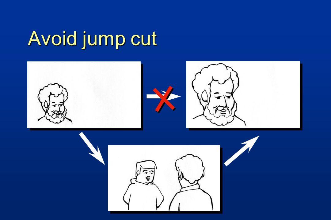 Avoid jump cut