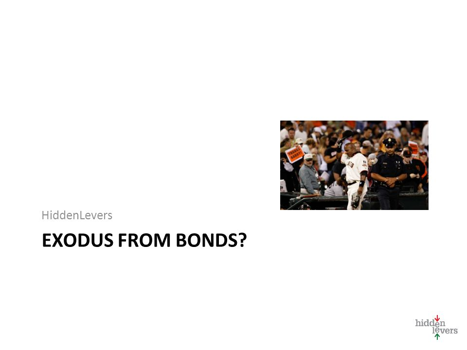 HiddenLevers EXODUS FROM BONDS
