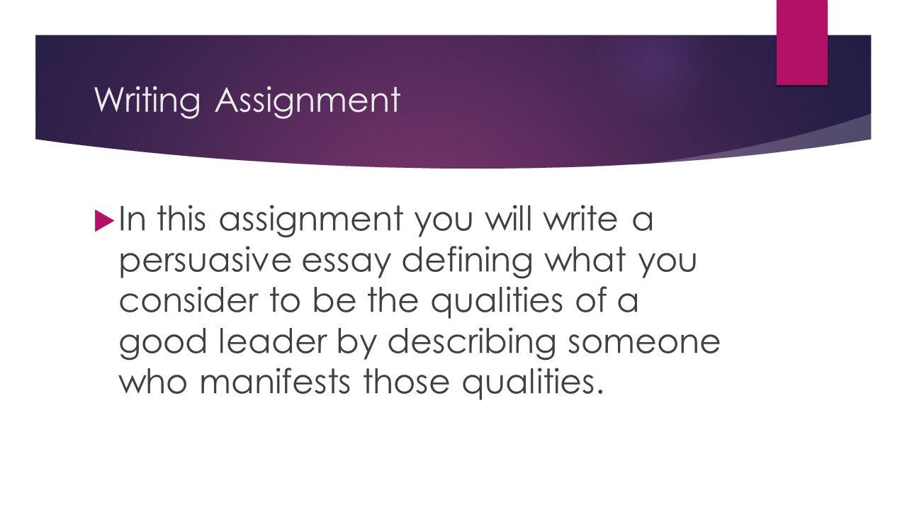 describing someone essay