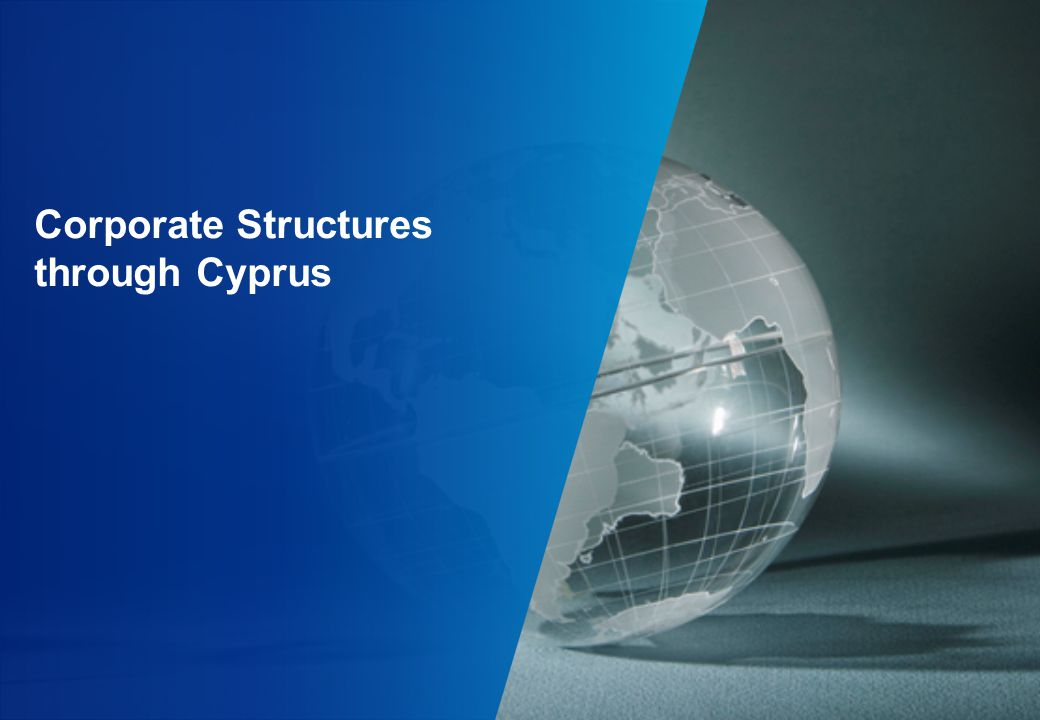Corporate Structures through Cyprus