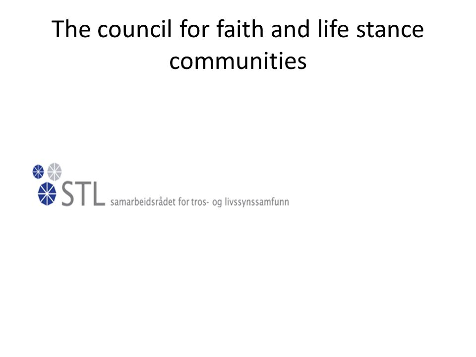 The council for faith and life stance communities