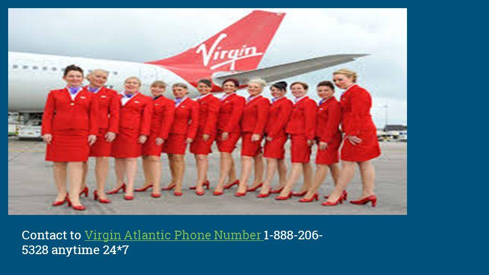 Virgin Atlantic Reservations Phone Number - ppt download