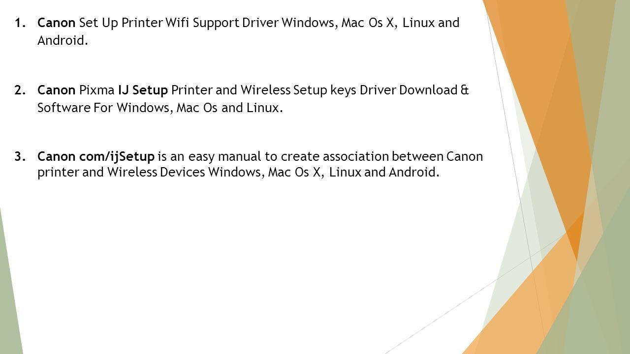 install canon printer on mac os x