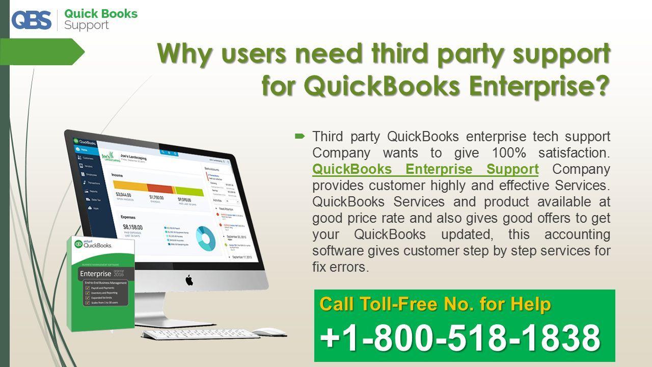 Resolve QuickBooks Errors by QuickBooks Enterprise Support