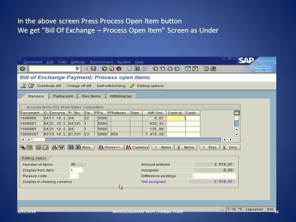 SAP Presentation Accounts Receivable 3/31/2016MAHESSUNDARAM