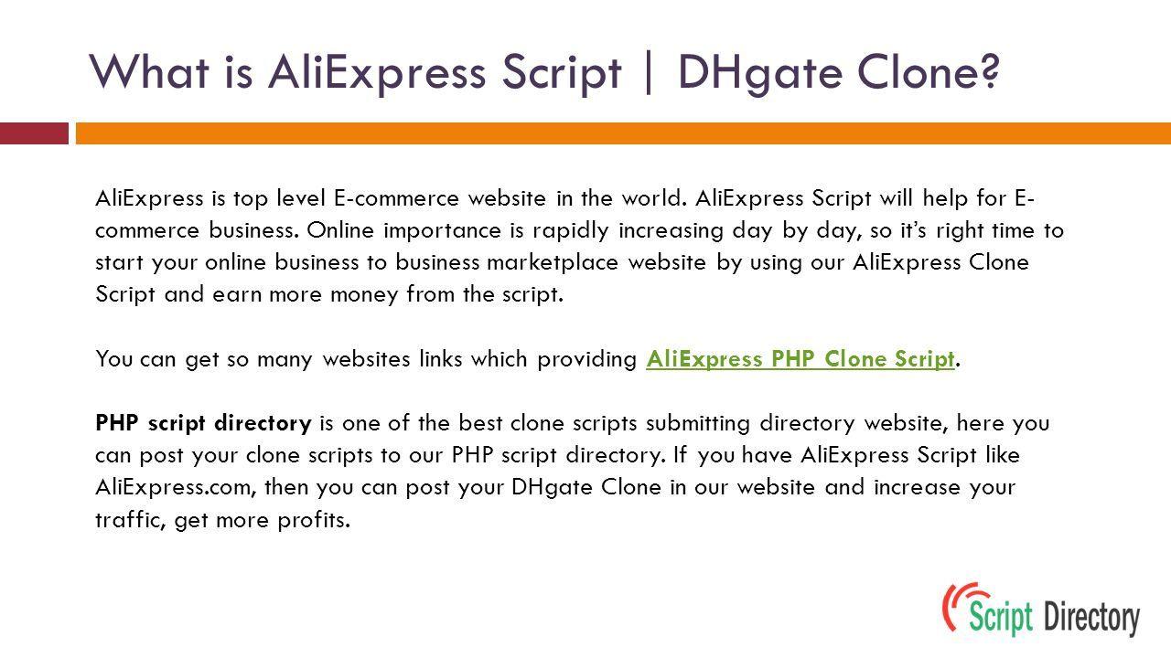 Readymade AliExpress Clone Script   AliExpress PHP Clone Script from