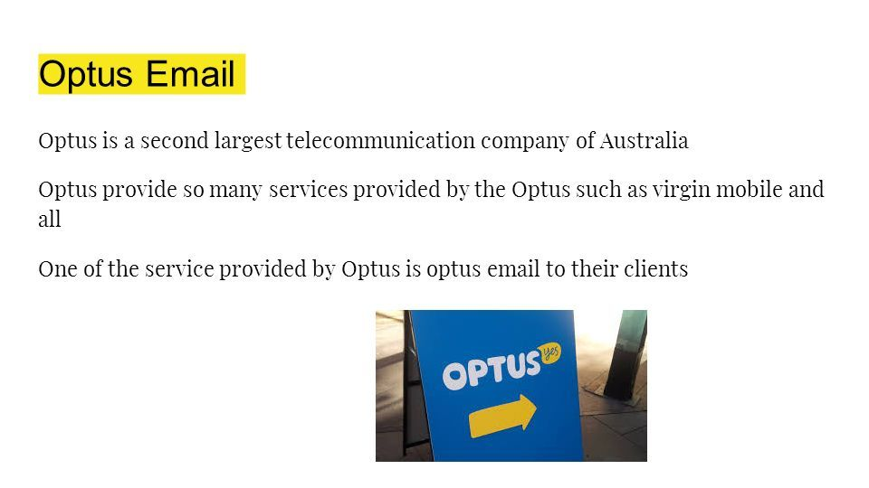Optus Password Reset Number - ppt download