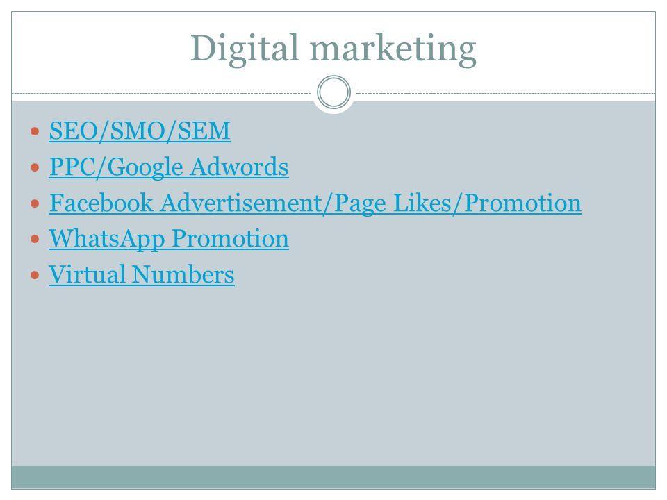 VAS DIGITAL MEDIA PVT LTD e Services Bulk SMS Marketing Bulk