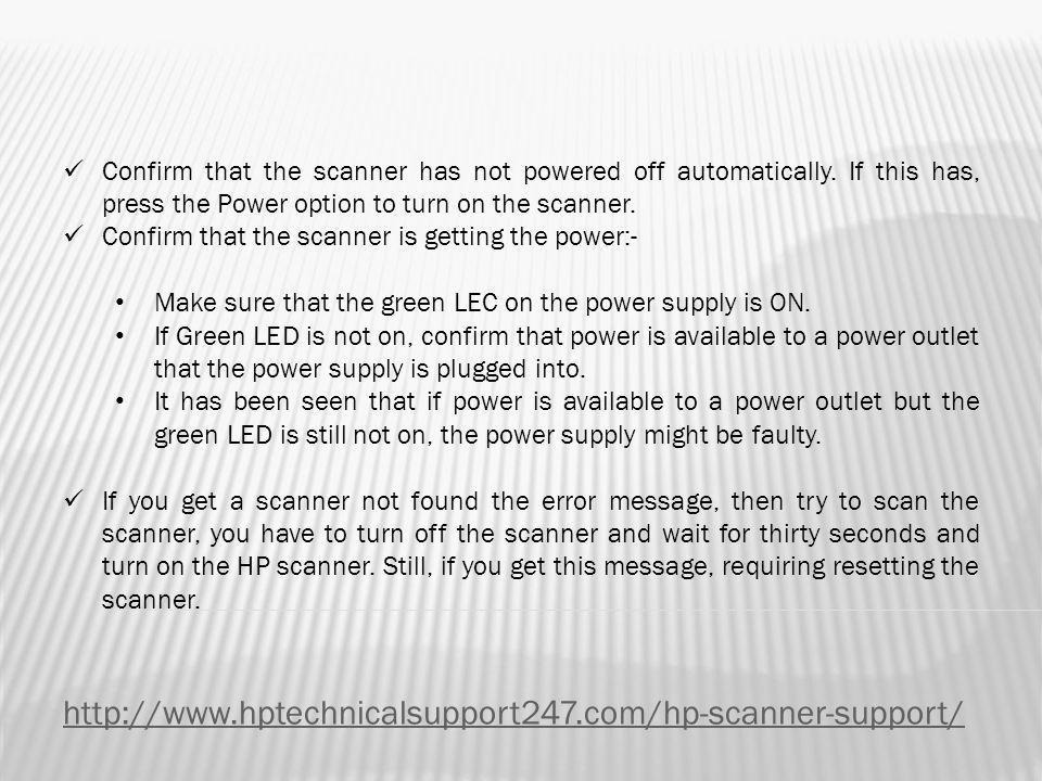 Basic Troubleshooting Tips for HP Scanjet Enterprise 7000 s2 - ppt