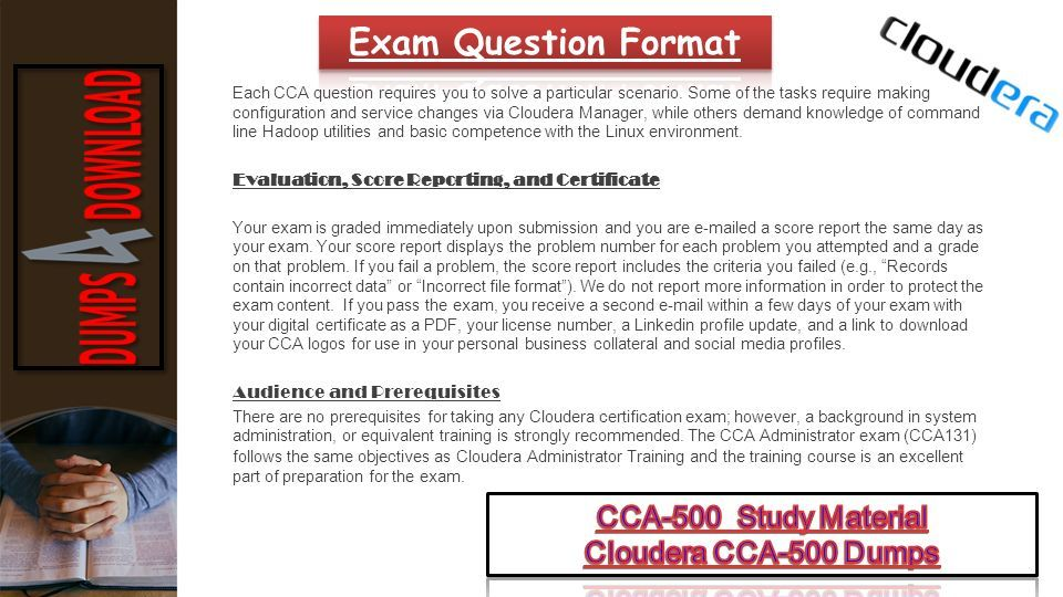 Get Cca 500 Dumps Pdf Cca 500 Exam Dumps Study Material