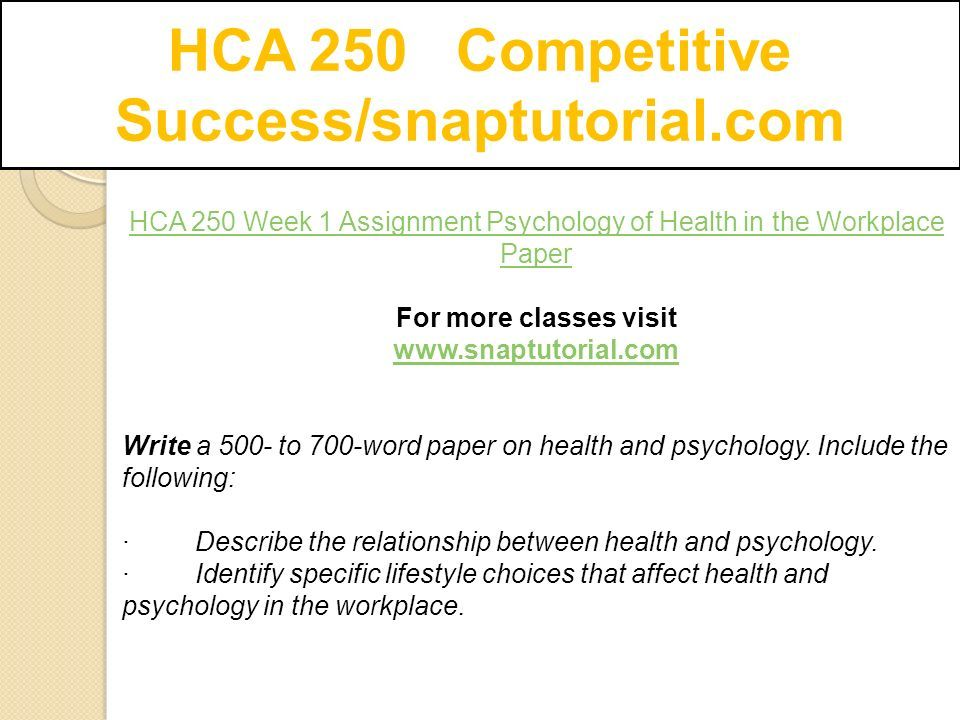 describe the relationship between health and psychology