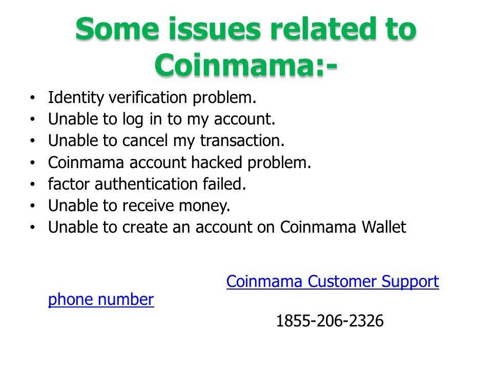 coinmama customer service phone number