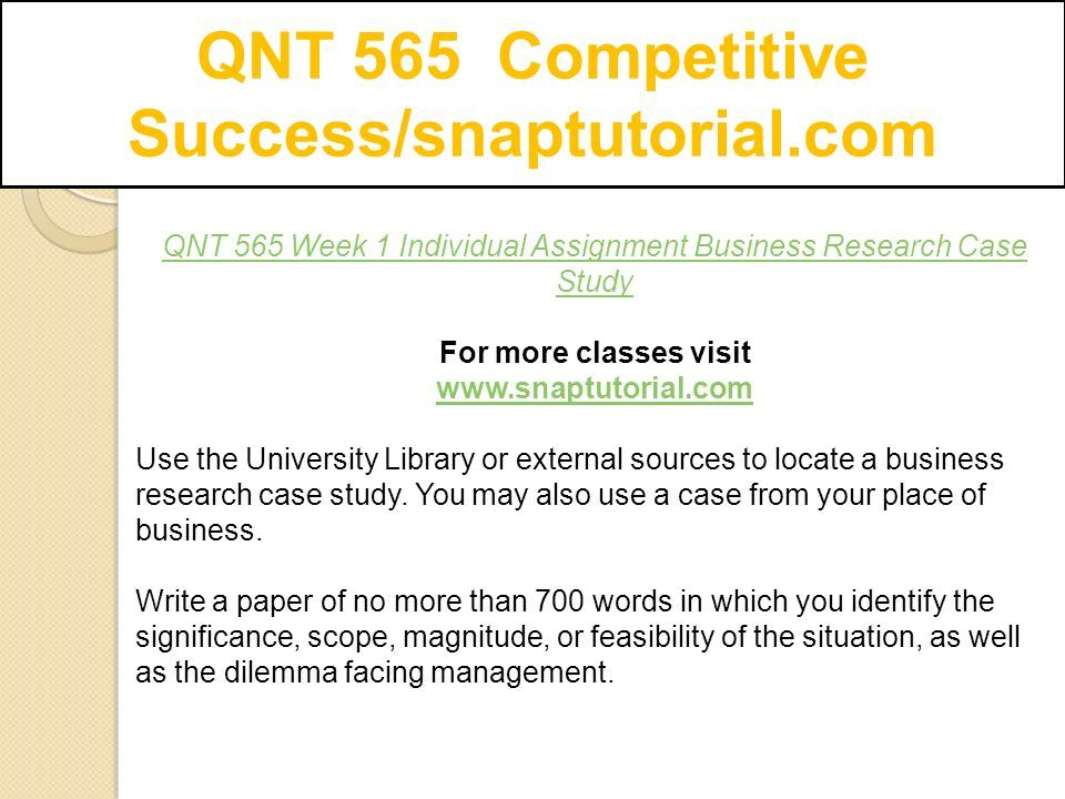 agricomp case study from business research methods
