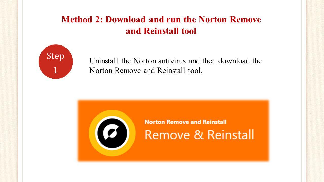 norton 360 download reinstall